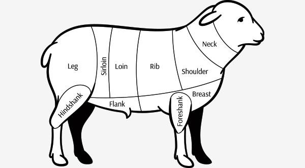 Lamb-Cuts